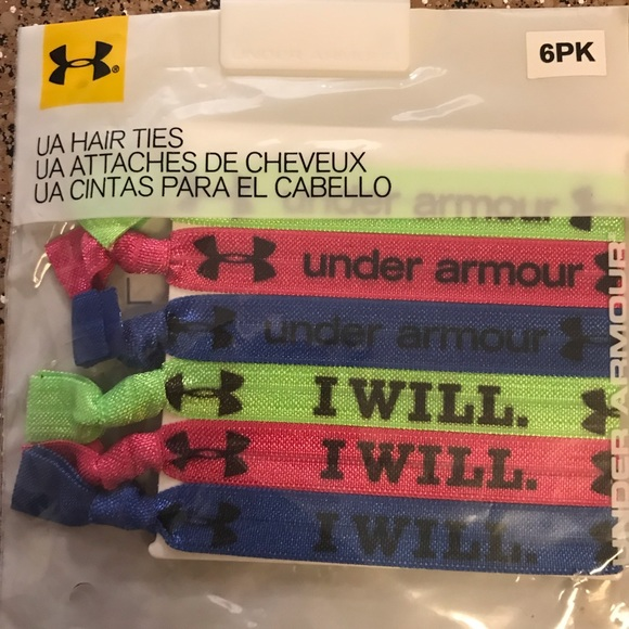 Under Armour Other - Under Armour 6pk Hair Ties